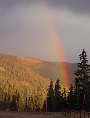 Alma, CO - 11k high rainbow