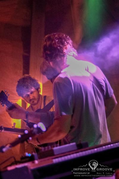 Drew Emmitt, Vince Herman and Andy Thorn (Leftover Salmon) Floydfest 2017 - Floyd, VA