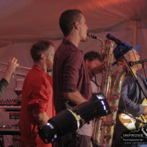 Chris Brouwers, Taylor Shell, Greg Sanderson, Josh Schwartz, David Brandwein, Sammi Garett (Turkuaz) Floydfest 2017 - Floyd, VA